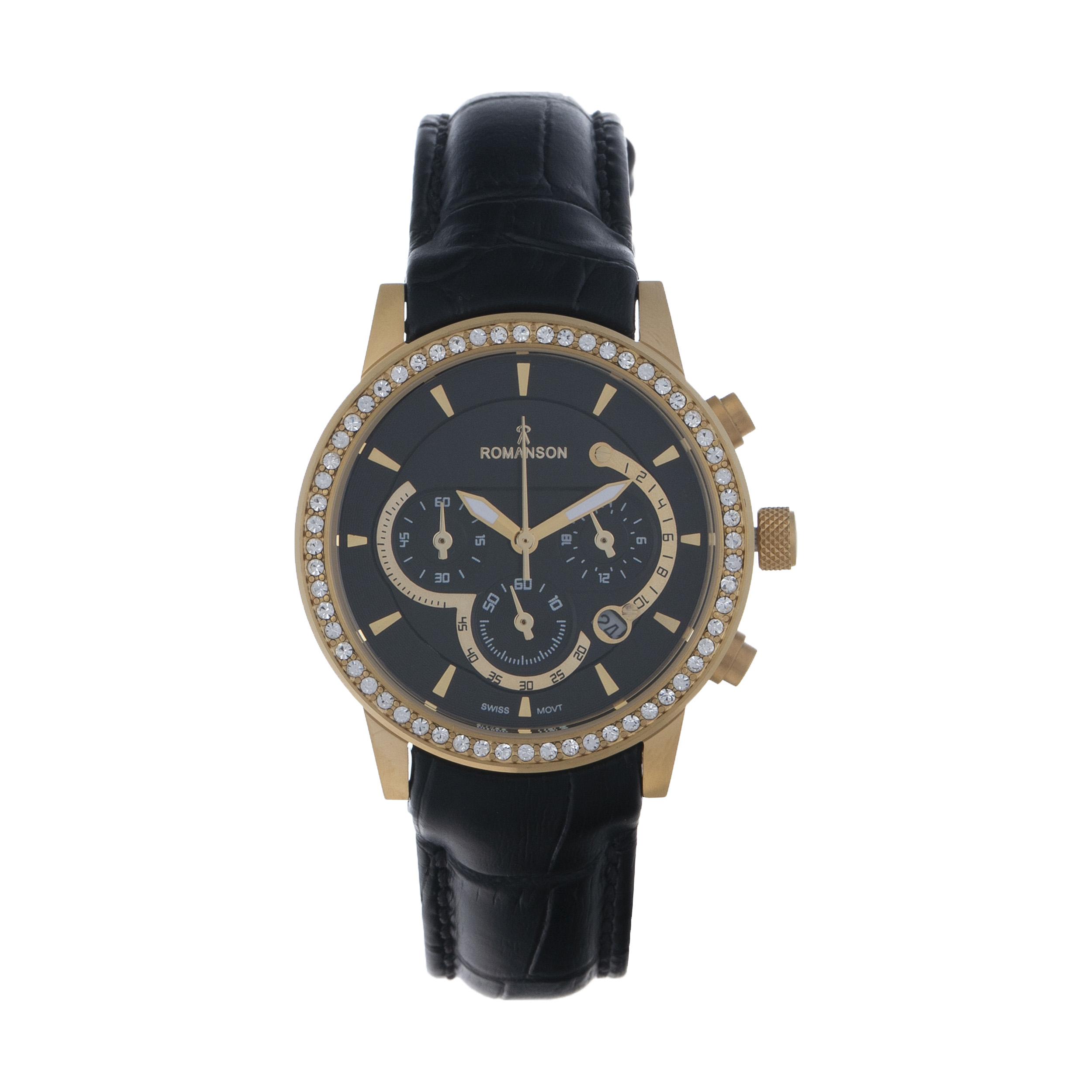 ساعت مچی عقربه ای زنانه مدل RM 17105 L - MT به همراه دستمال مخصوص نانو برند کلیر واچ 22
