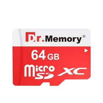 کارت حافظه microSDXC دکتر مموری مدل DR6025 کلاس 10 استاندارد XC قرمز ظرفیت 64 گیگابایت تایوان  با اداپتر SD