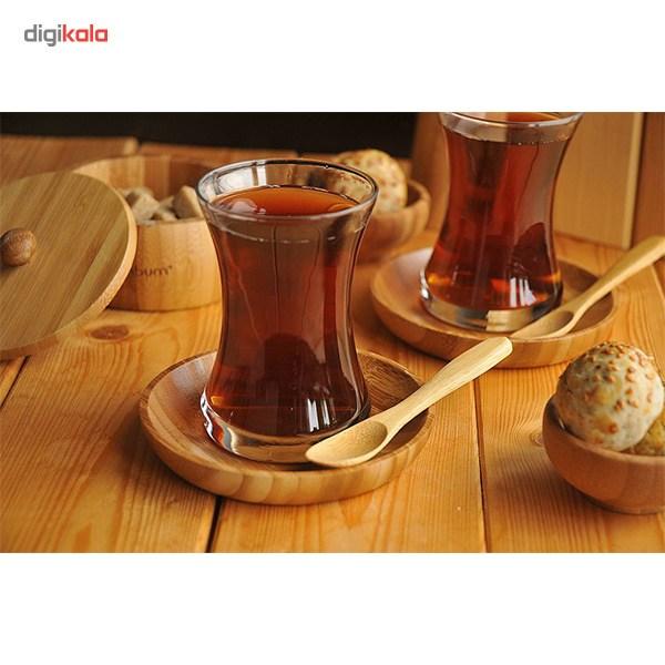 قاشق چای بامبو مدل Tai BKCT1 بسته 6 عددی main 1 3