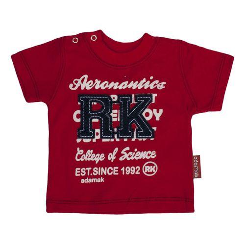 تی شرت نوزادی پسرانه آدمک مدل  143401R