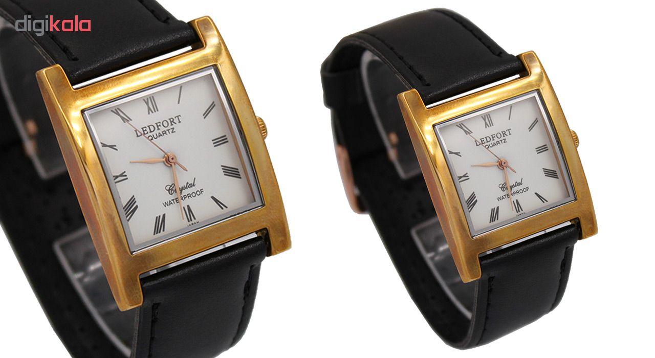 خرید ساعت مچی عقربه ای مردانه لدفورت مدل DGMU-0186