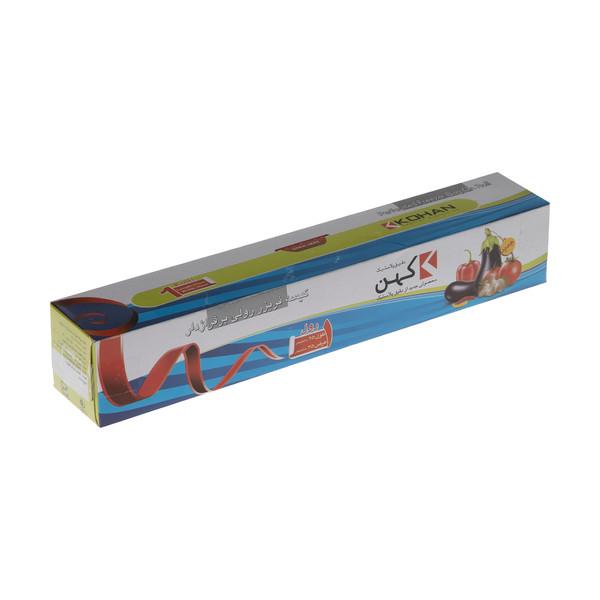 کیسه فریزر دقیق پلاستیک کهن کد 7600209 بسته 200 عددی