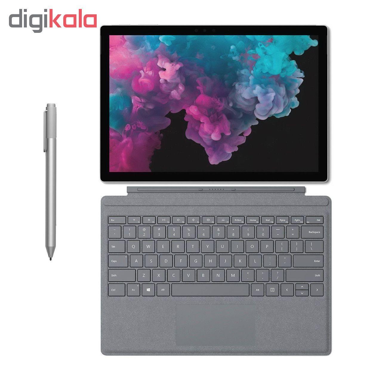 تبلت مایکروسافت مدل Surface Pro 6 - H به همراه کیبورد Signature و قلم main 1 5