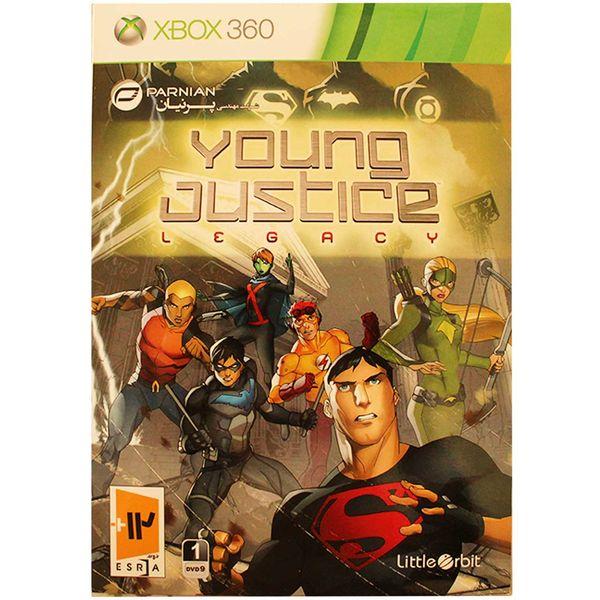 بازی Young Justice مخصوص Xbox 360