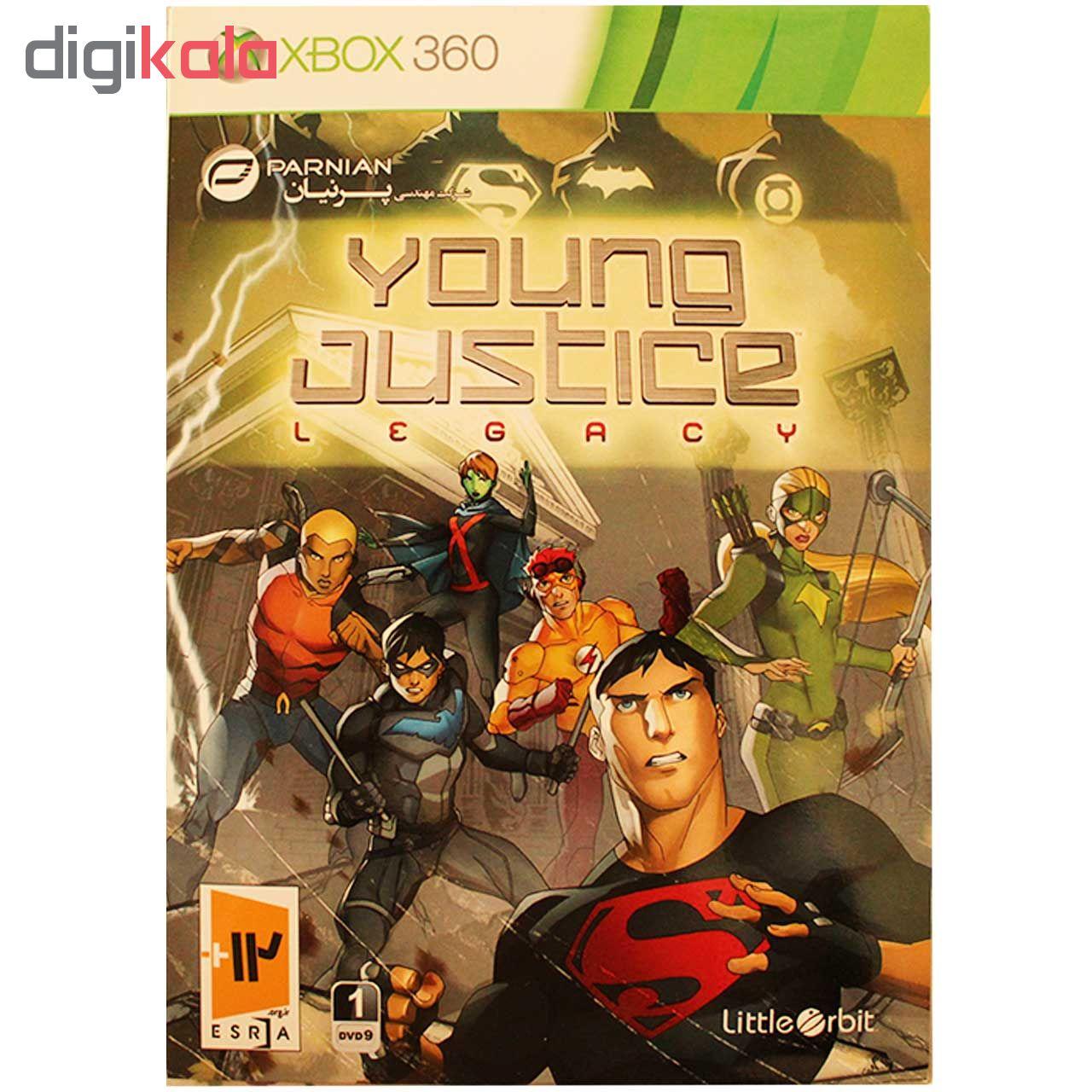 بازی Young Justice مخصوص Xbox 360 main 1 1