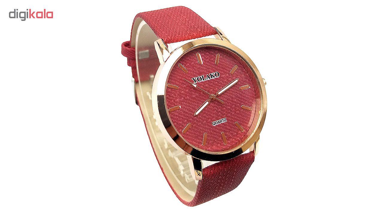 کد تخفیف                                      ساعت مچی عقربه ای یولاکو مدل 1488