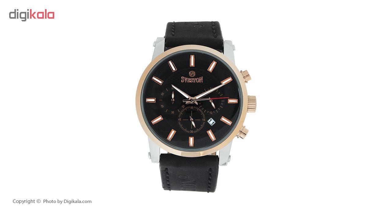 خرید ساعت مچی عقربه ای مردانه سویستون مدل SV-8193