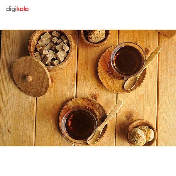 قاشق چای بامبو مدل Tai BKCT1 بسته 6 عددی main 1 4