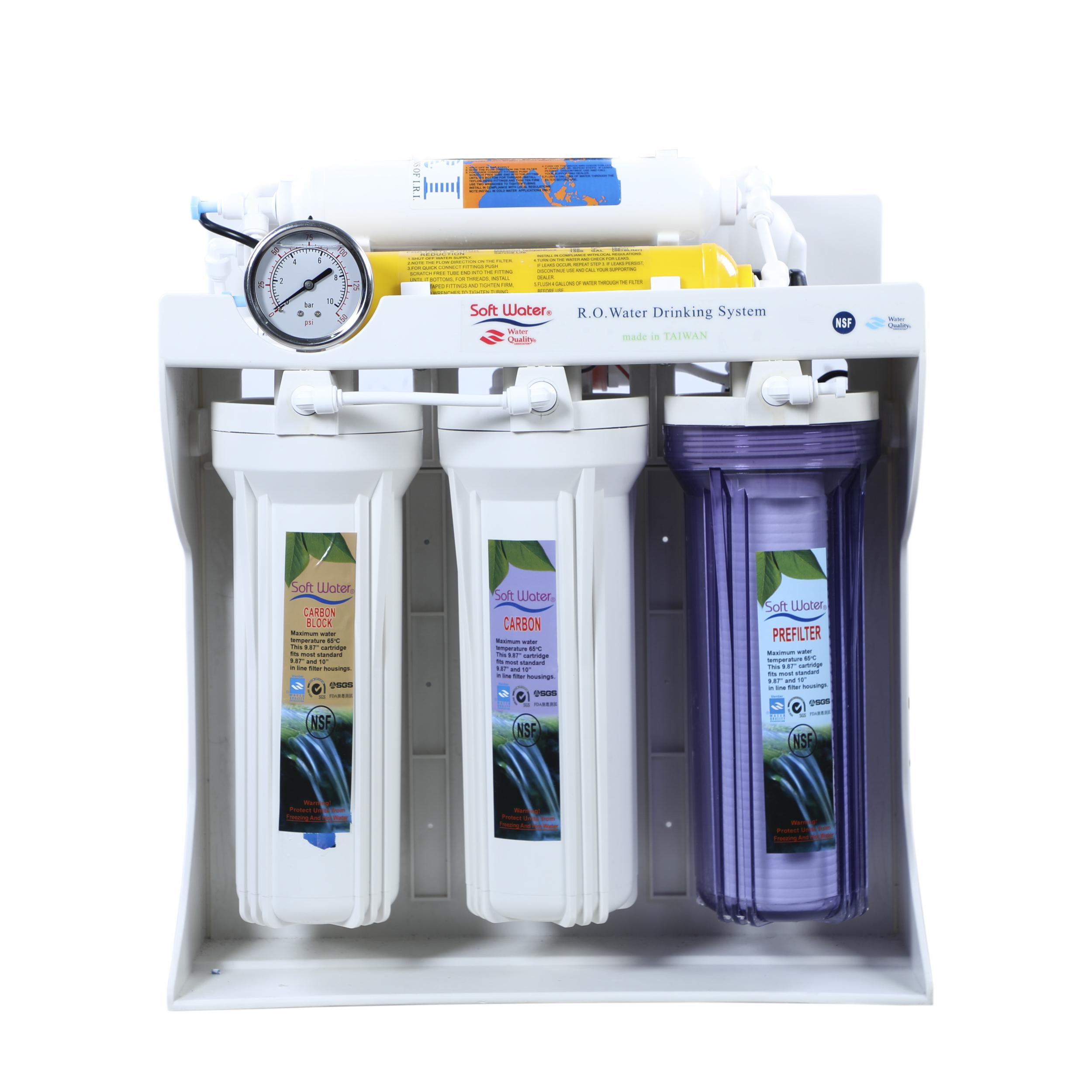 دستگاه تصفیه کننده آب خانگی سافت واتر مدل RO-02