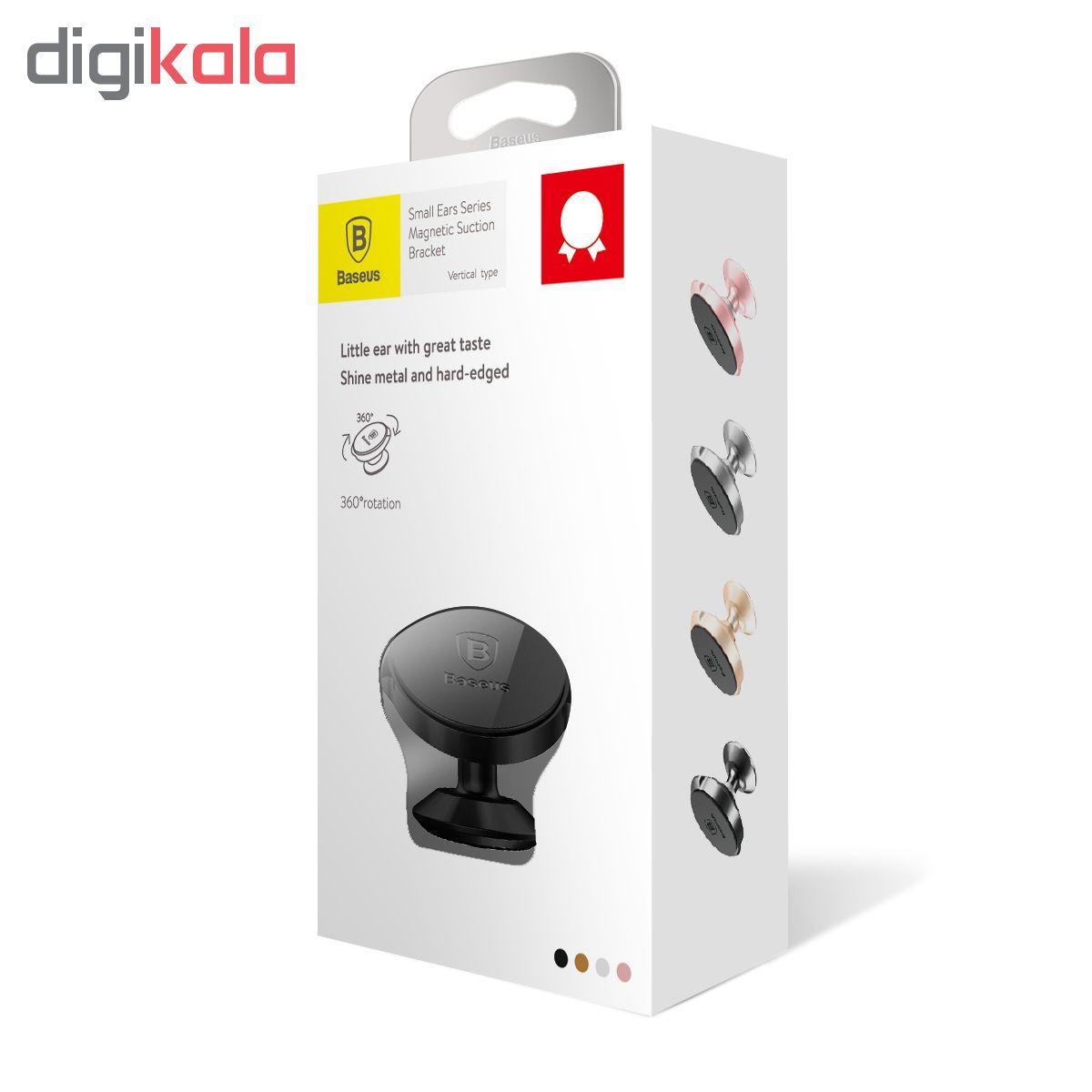 پایه نگهدارنده گوشی موبایل باسئوس مدل Small Ear Vertical Type main 1 5