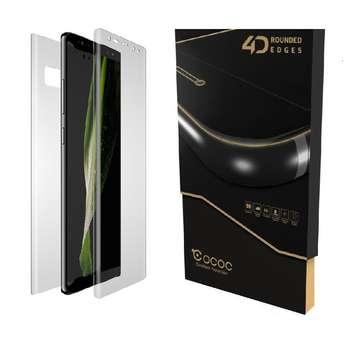 محافظ صفحه نمایش و پشت گوشی کوکوک مدل ex-pro مناسب برای گوشی موبایل سامسونگ Galaxy Note 8