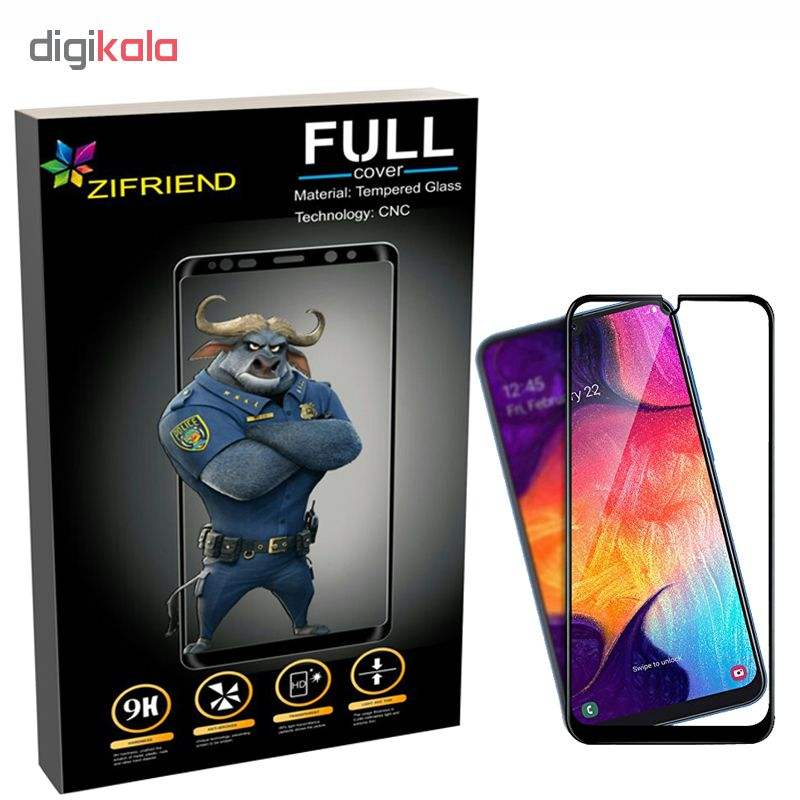 محافظ صفحه نمایش زیفرند مدل ZIF مناسب برای گوشی موبایل سامسونگ Galaxy A10 2019 main 1 1
