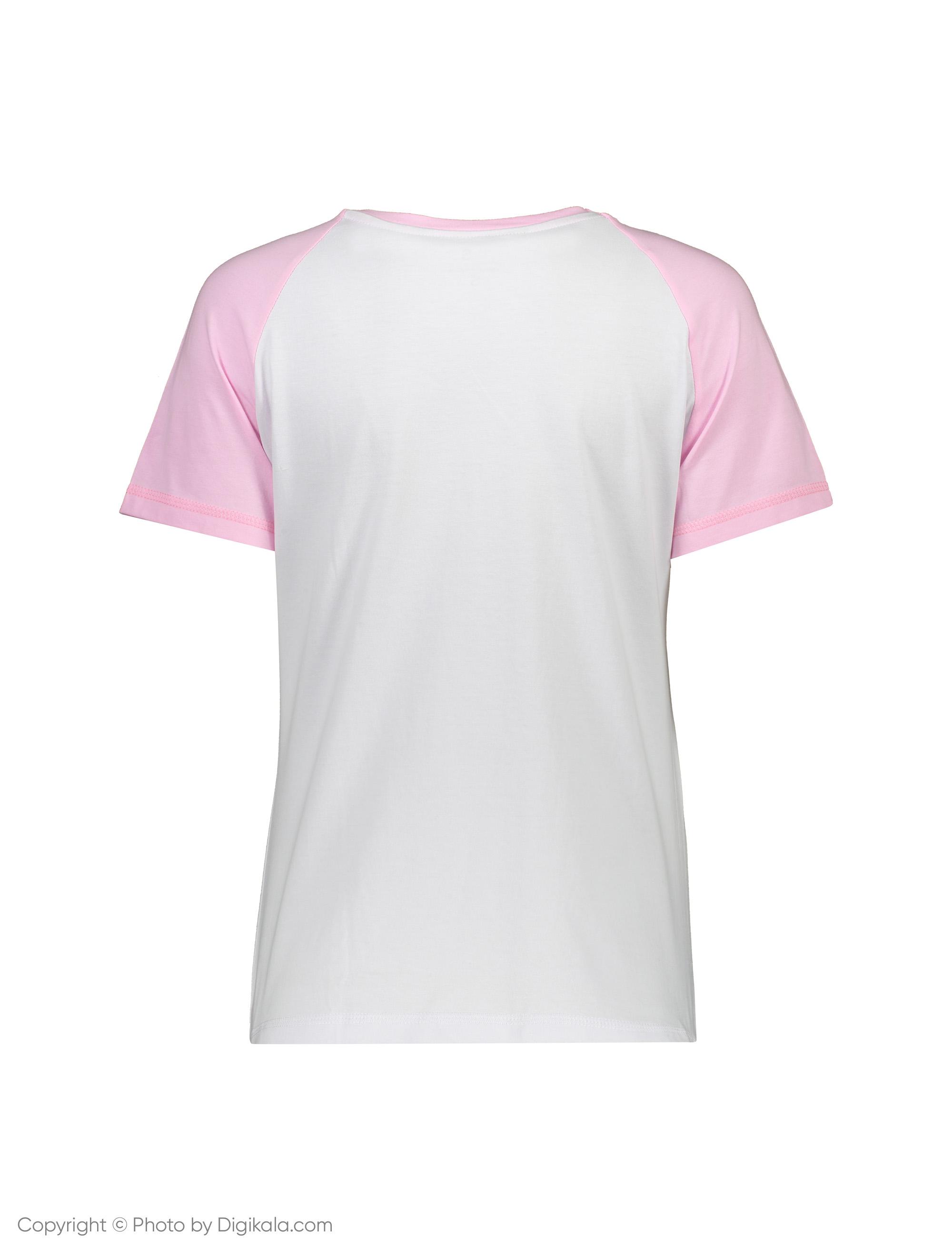 ست تی شرت و شلوار راحتی زنانه ناربن مدل 1521172-0187