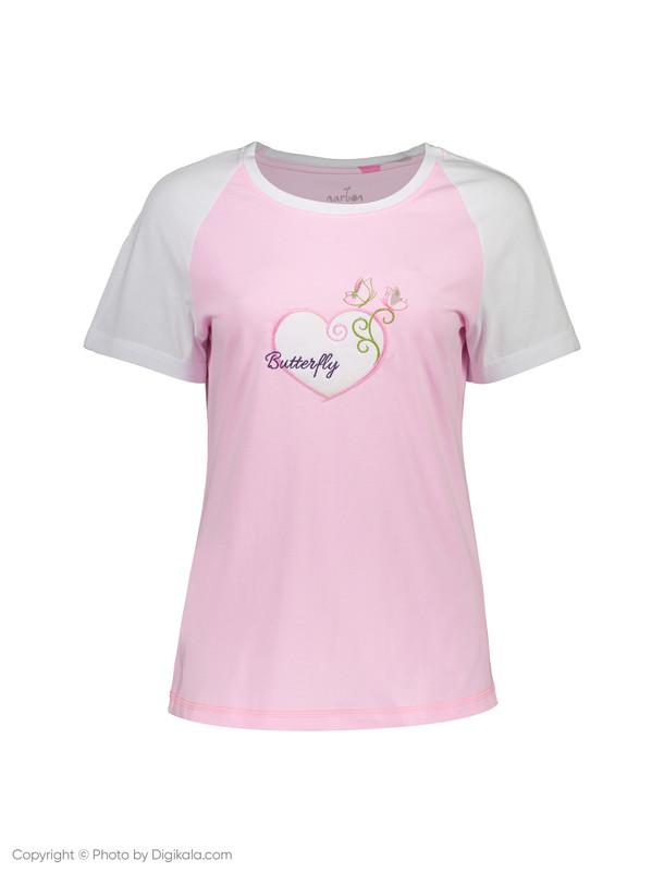 ست تی شرت و شلوار راحتی زنانه ناربن مدل 1521172-8701