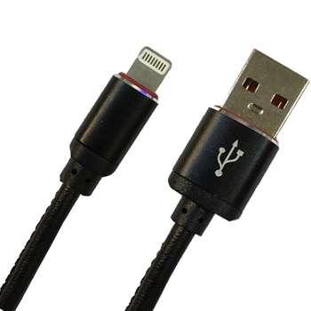 کابل تبدیل USB به لایتنینگ مدل pu-sm52 طول 1 متر