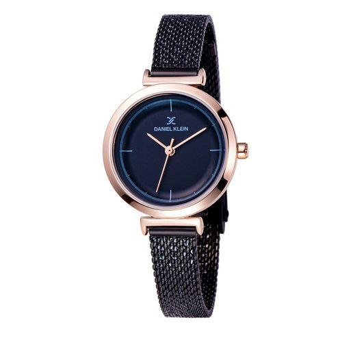 ساعت مچی عقربه ای زنانه دنیل کلین مدل dk11899-5 به همراه دستمال مخصوص برند کلین واچ