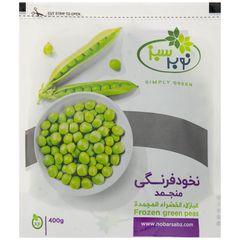 نخود فرنگی منجمد نوبر سبز مقدار 400 گرم