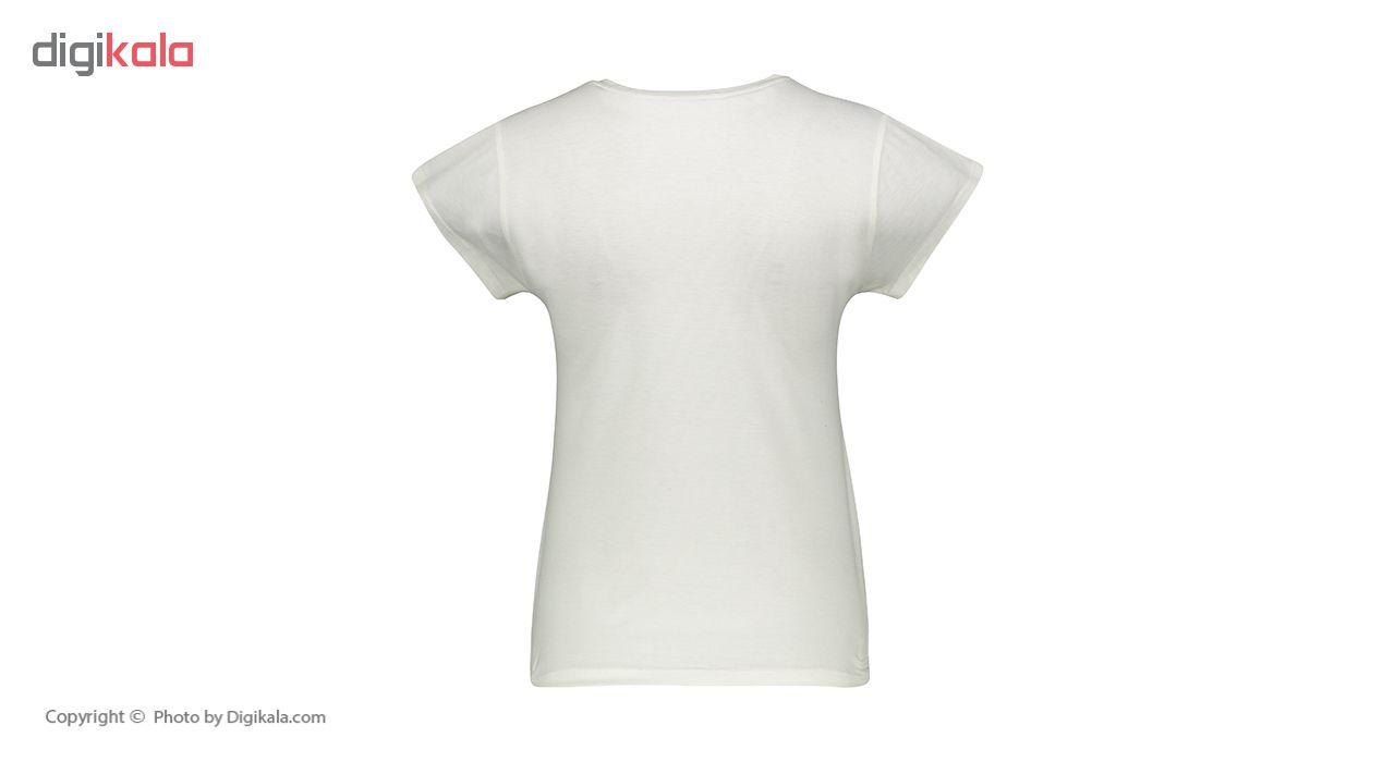 تی شرت زنانه افراتین کد2518 رنگ سفید