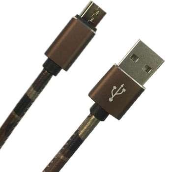 کابل تبدیل USB به microUSB مدل pu-co53 طول 1 متر