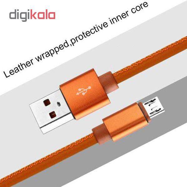 کابل تبدیل USB به microUSB مدل pu-sm52 طول 1 متر main 1 5