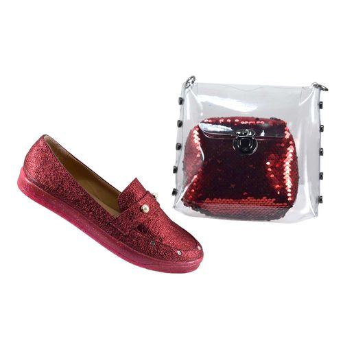 ست کیف و کفش زنانه آذاردو کد SE03910