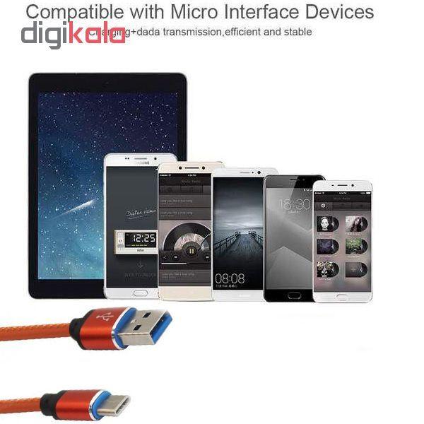 کابل تبدیل USB به USB-C مدل pu-sm52 طول 1 متر main 1 4