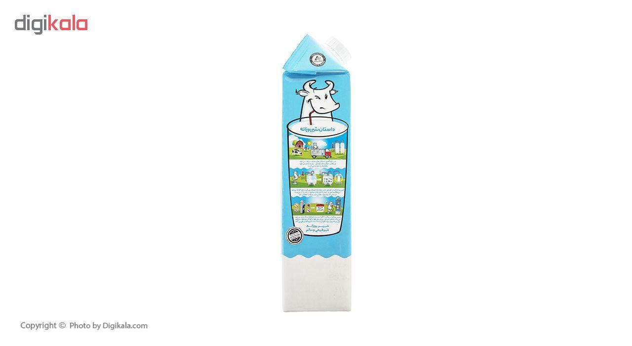 شیر پرچرب روزانه مقدار 1 لیتر