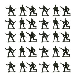 فیگو سرباز مدل Soldiers pack 1 بسته 30 عددی