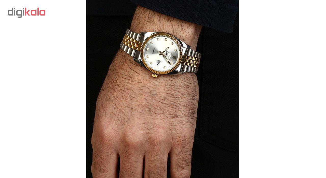 ساعت مچی عقربه ای مردانه مدل R2GS-Sil