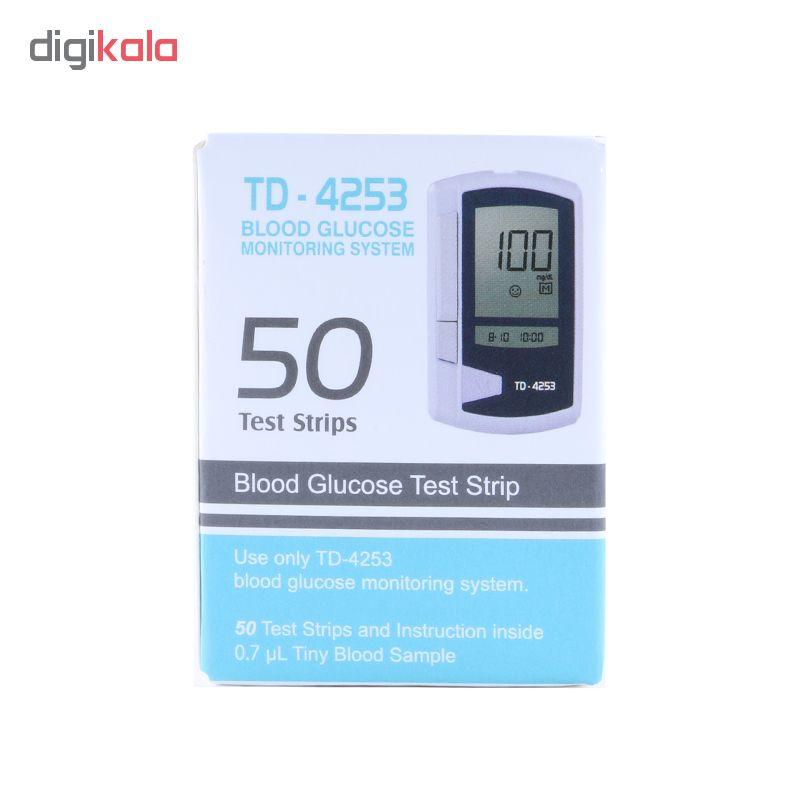 نوار تست قند خون مدل TD-4253
