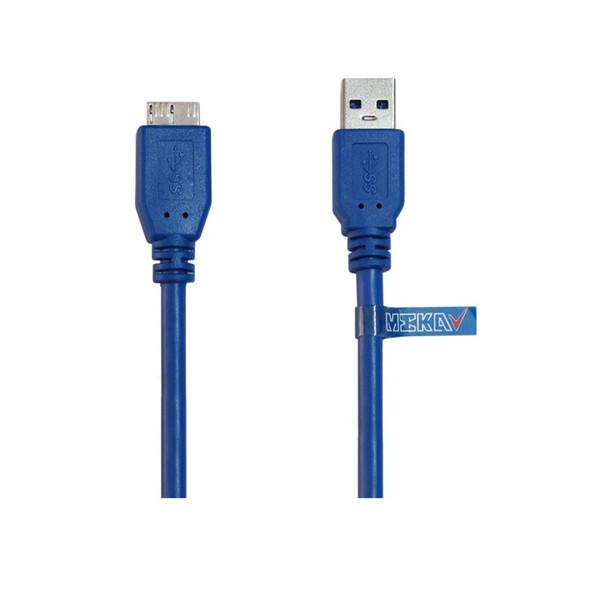 کابل هارد USB3.0 مکا مدل MCU38 طول 0.30 متر