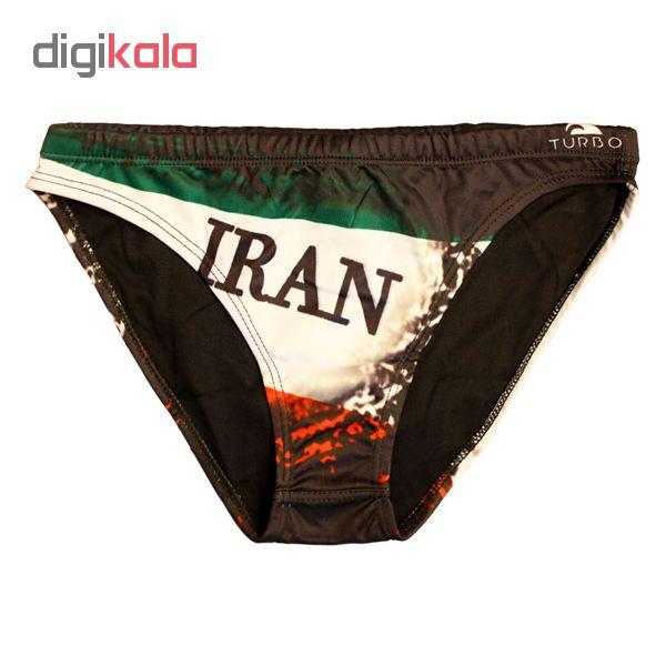 مایو مردانه طرح پرچم ایران مدل 65432