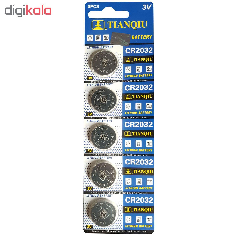 باتری سکه ای تیانکیو مدل CR2032 بسته 5 عددی main 1 1