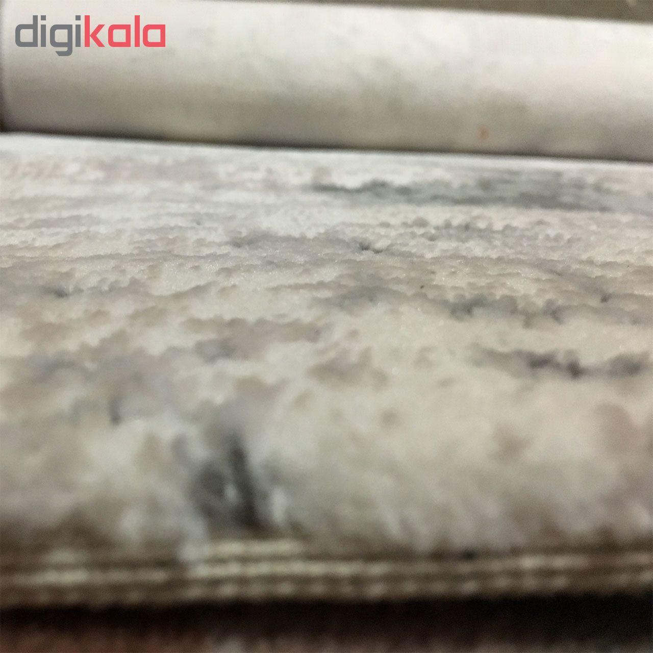 فرش ماشینی طرح پلاتینیوم کد 5004 زمینه طوسی  main 1 5