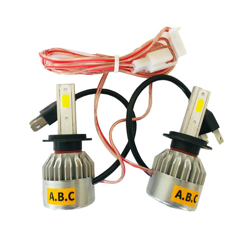 خرید اینترنتی لامپ خودرو هدلایت مدل H7 بسته 2 عددی