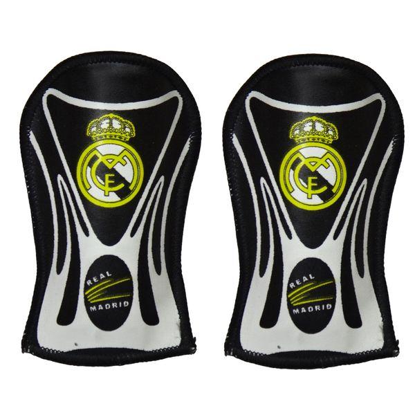 ساق بند فوتبال طرح رئال مادرید مدل SG097 بسته 2 عددی