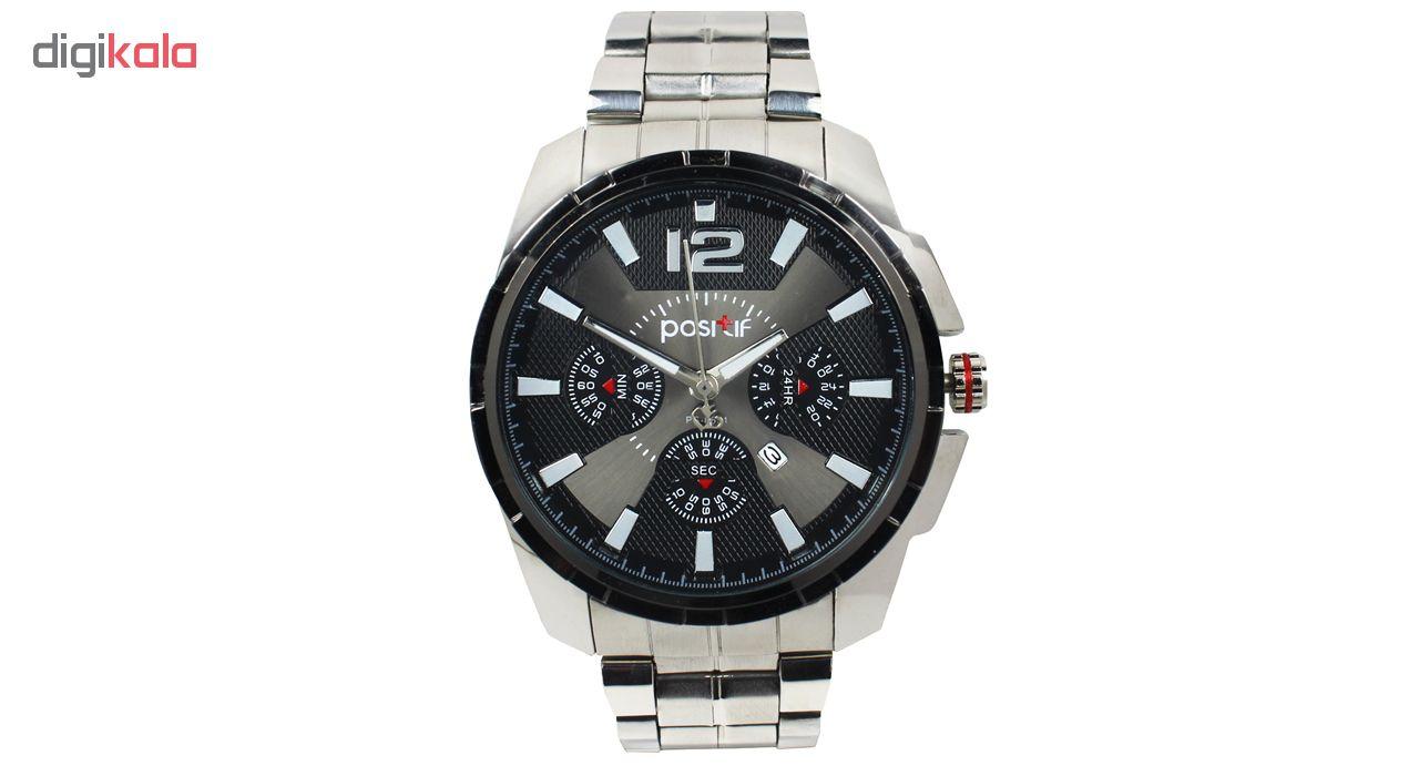 خرید ساعت مچی عقربه ای مردانه مدل Pos-01