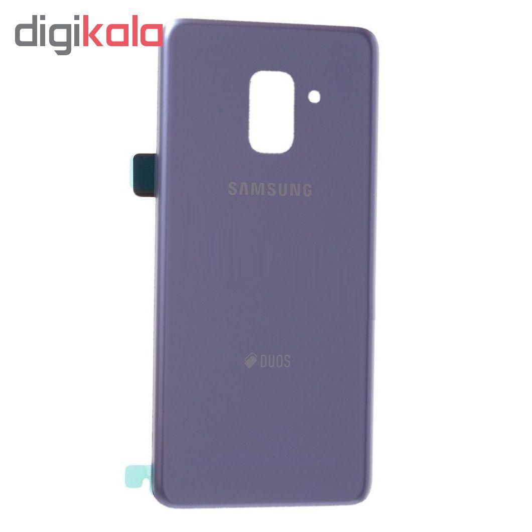 در پشت گوشی مدل 8P18 مناسب برای گوشی موبایل سامسونگ Galaxy A8 Plus 2018 DUOS main 1 2