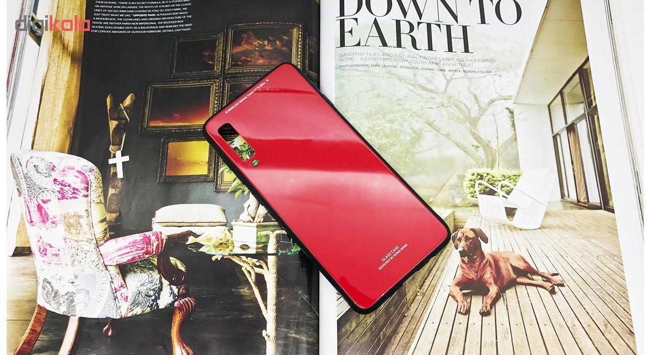 کاور مای کالرز مدل Glass Case مناسب برای گوشی موبایل سامسونگ Galaxy A7 2018