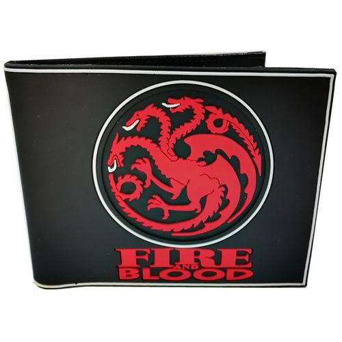 کیف پول بایو ورد سری Serial مدل Game Of Throne Fire & Blood
