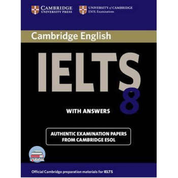 کتاب IELTS Cambridge 8 اثر Vanessa Jakeman انتشارات با من
