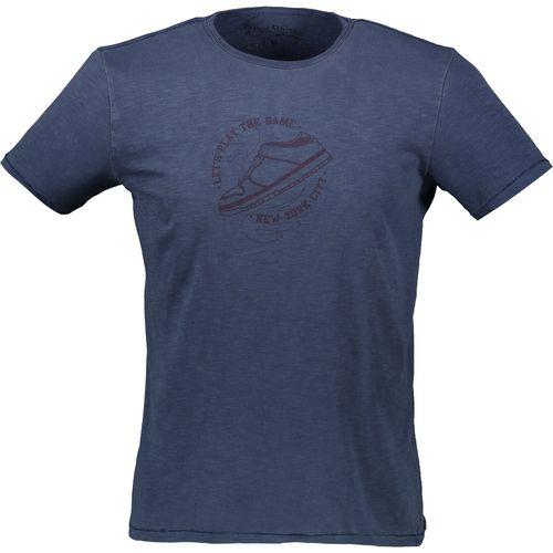 تی شرت نخی آستین کوتاه مردانه - یوپیم