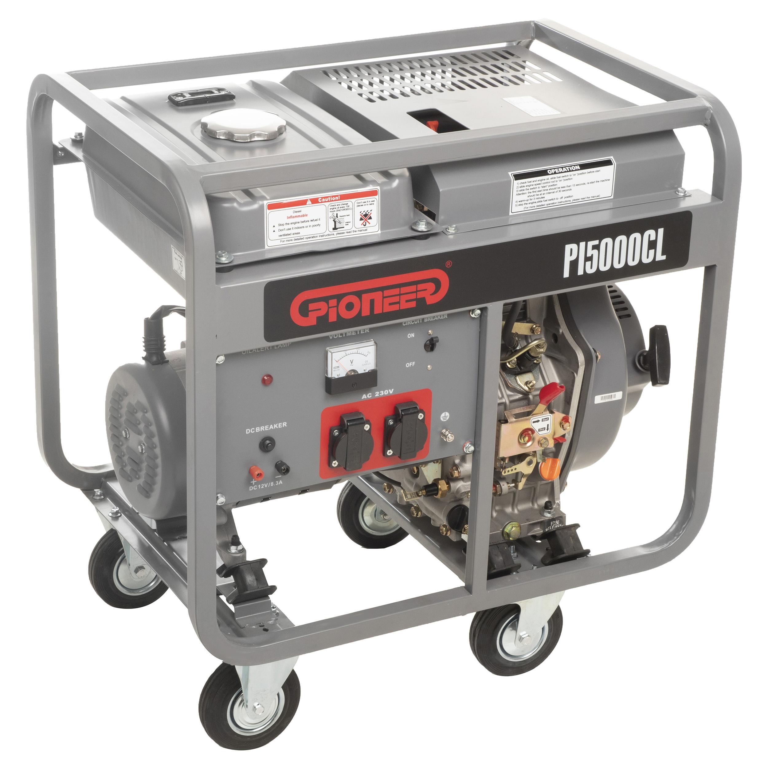 موتور برق پایونیر مدل PI5000CL