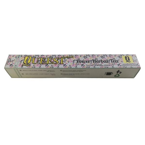 کپسول گیاهی انرژی زا  دستگاه نسپرسو کوئست مدل 02 بسته 10 عددی