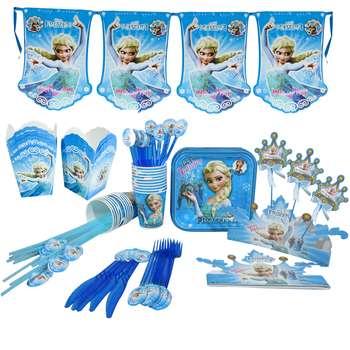 مجموعه 90 عددی تم تولد مدل Frozen