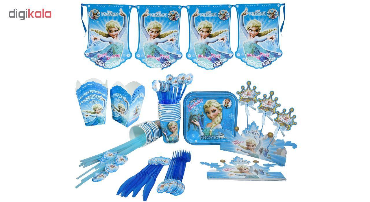 مجموعه 90 عددی تم تولد مدل Frozen main 1 1
