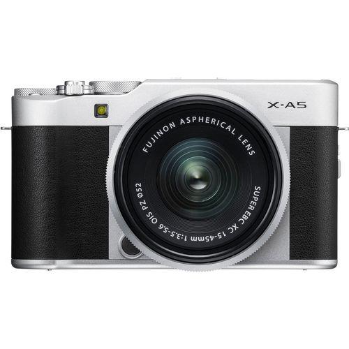دوربین دیجیتال بدون آینه عکاسی فوجی فیلم مدل X-A5 همرا با لنز XC 15-45mm