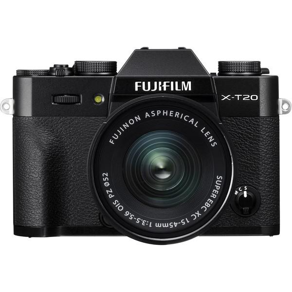 دوربین دیجیتال بدون آینه عکاسی فوجی فیلم مدل X-T20  همرا با لنز XC 15-45mm