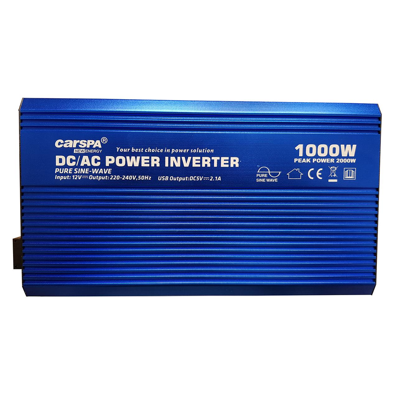 مبدل برق خودرو کارسپا مدل P1000U-12