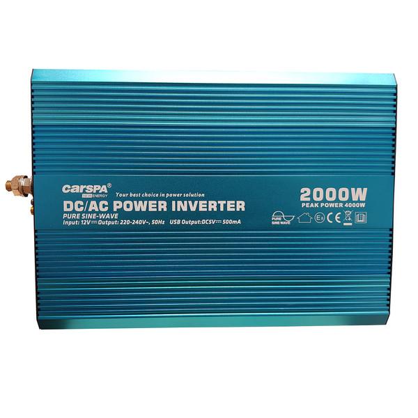 مبدل برق خودرو کارسپا مدل P2000U-12